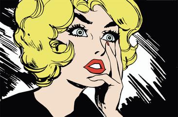 Ilustracion con el rostro de jovenes mujeres