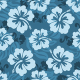 Hawaiian seamless pattern