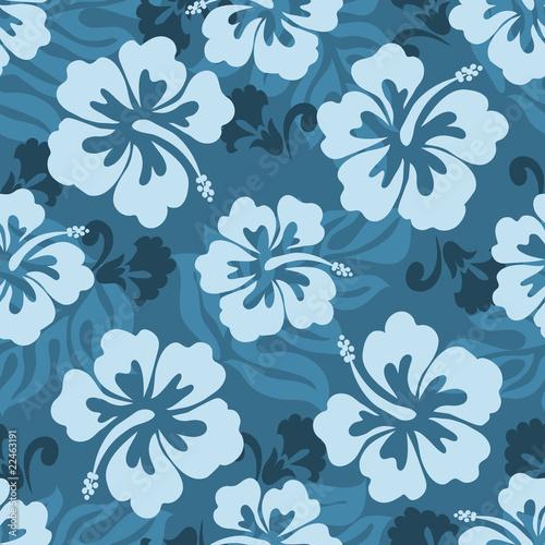Hawaiian seamless pattern