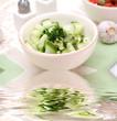 frischer gurkensalat