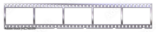 Chrome film/negative strip