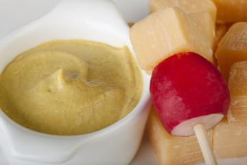 Radish and Cheese