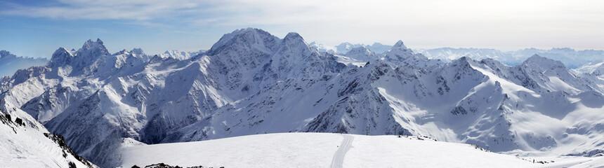 Elbrus Mount. Panorama