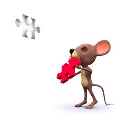 3d Mouse solves the puzzle