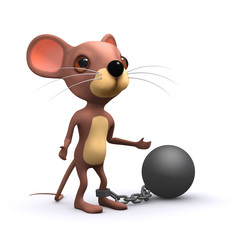 3d Prisoner mouse