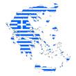 landkarte griechenland II