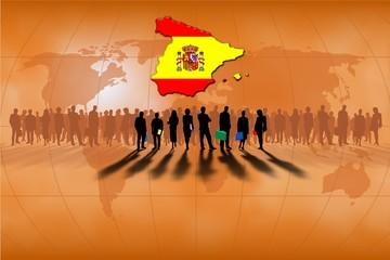 Trabajo en equipo: España