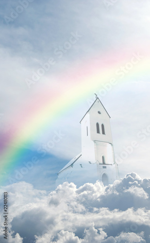 Leinwanddruck Bild Heavens home