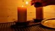 Romantische Kerzen