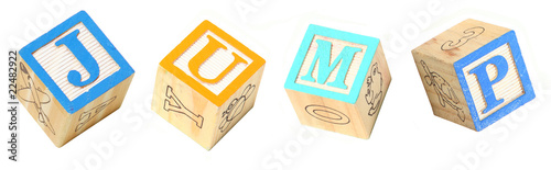 Alphabet Blocks JUMP