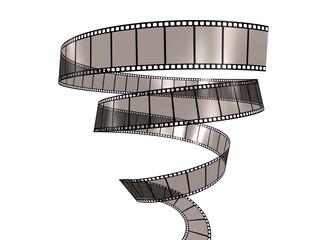Filmstrip Spiral down