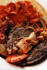 Caldaro - Zuppa di pesce all uso della Maremma