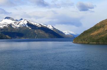 Beagle Kanal zwischen Feuerland und Patagonien