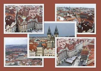 Cartolina di Praga