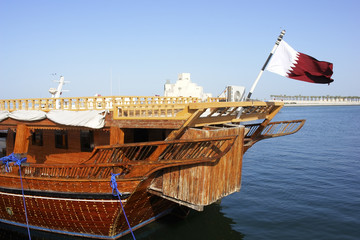 Fishing Dhow in Doha, Qatar