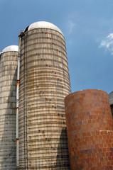 Quaker farm silo