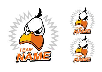 Duck mascot/logo for sport team