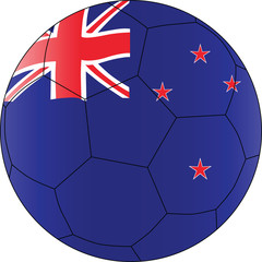 Soccer vector ball New Zealand