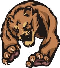 Important striding quiet tiger. Big cats.