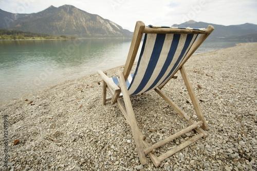 liegestuhl am strand von rupbilder lizenzfreies foto 22497994 auf. Black Bedroom Furniture Sets. Home Design Ideas