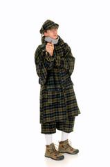 Sherlock Holmes, crime scene