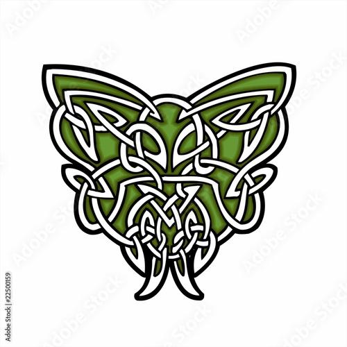 Celtic ornamental design. - 22500159