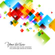 Intensive Colors - Abstract Vector Background