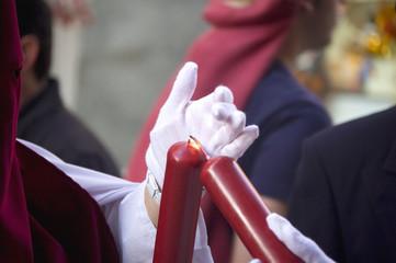 Nazareno Encendiendo Círio
