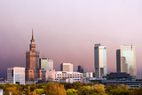 Fototapety The City of Warsaw