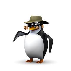 3d Outback penguin