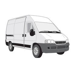 Camionnette Vecteur - Vector