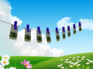 Soldi ad asciugare