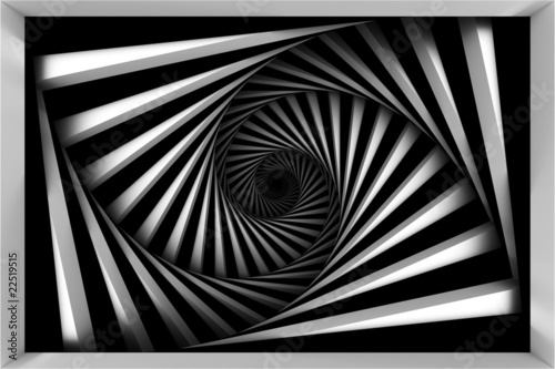 black-and-white-spiral