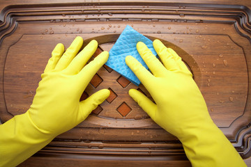 Damp cleaning