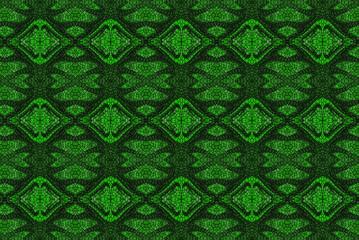 astratto con motivo verde