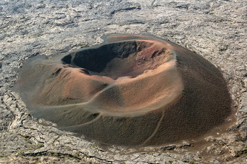 Cratère Formica Léo au Piton de la Fournaise.