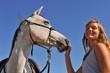 l'ado et son cheval