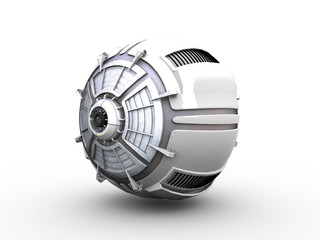 Round computer server