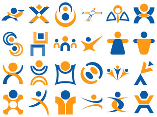 Human Logo Design Elements