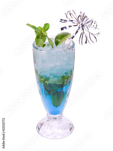Mojito cocktail.isolated