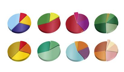 3d pie graphs