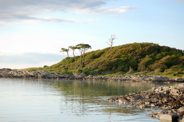 Peaceful bay at Arisaig