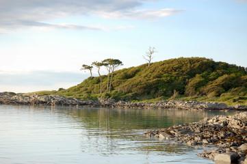 Peaceful bay at Arisaig