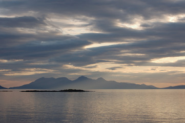 Rum from Arisaig late evening