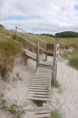 Boardwalk at Arisaig