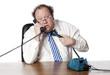 manager perturbé au téléphone