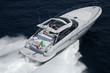 Italy, off the coast of Naples, Aqua 54' luxury yacht