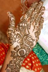 Mehandi hand