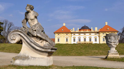 garden of Slavkov castle
