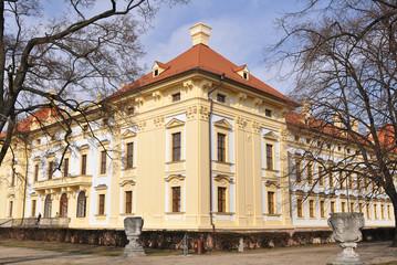 garden of Slavkov castle